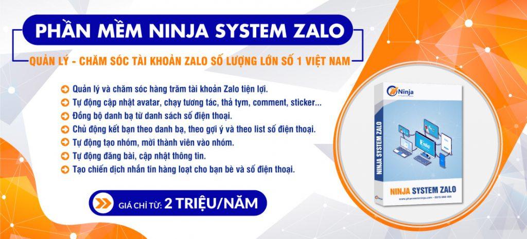 phần mềm nuôi nick ninja